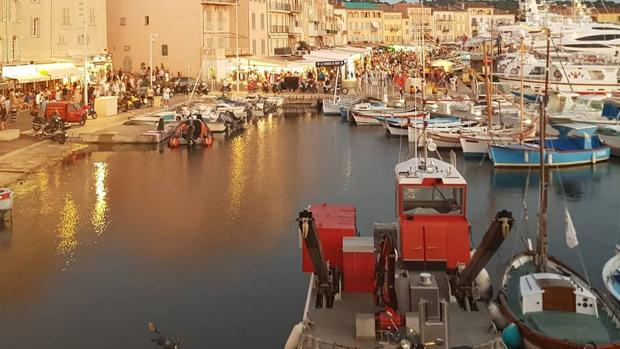 Puerto deportivo Saint - Tropez