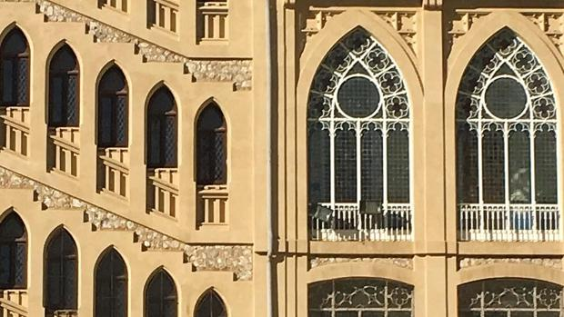 Fachada del colegio de Nuestra Señora del Pilar