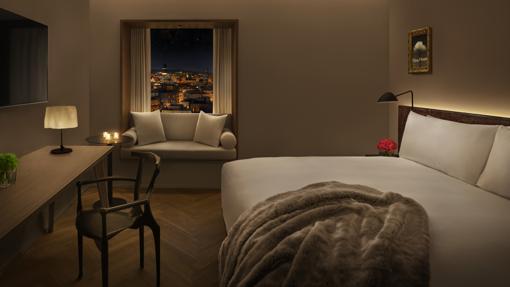 Habitación del nuevo hotel The Barcelona Edition
