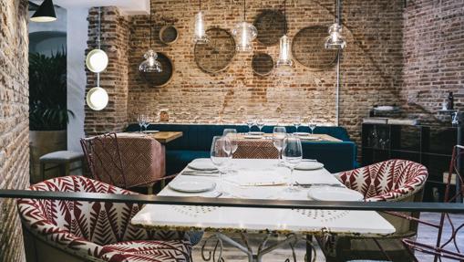 Salón del restaurante La Bientirada