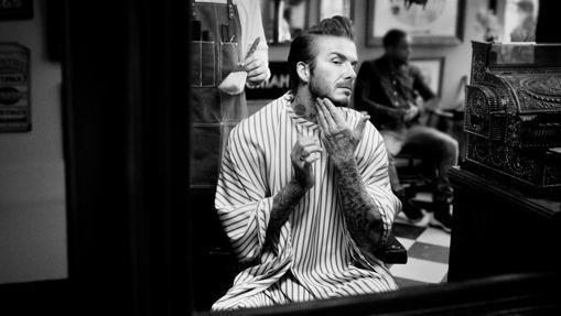 David Beckham en una de las imágenes de campaña de House 99