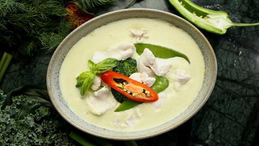El curry verde tailandés es uno de los platos más picantes de la gastronomía mundial