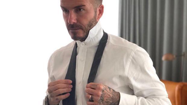 David Beckham en una de sus publicaciones en Instagram