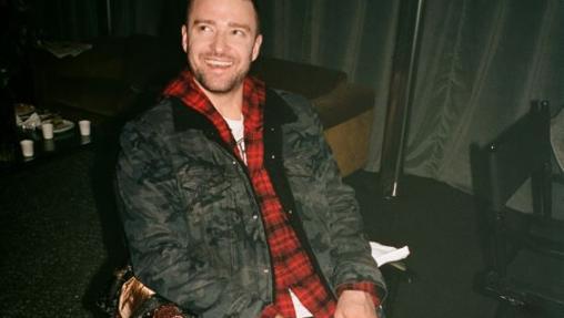 Justin Timberlake en una de las imágenes de campaña