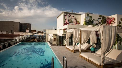 Rooftop del Hotel NYX Madrid
