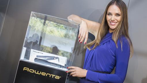 La modelo Helen Linden, imagen de Rowenta