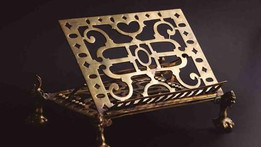 Atril del S. XVI en bronce
