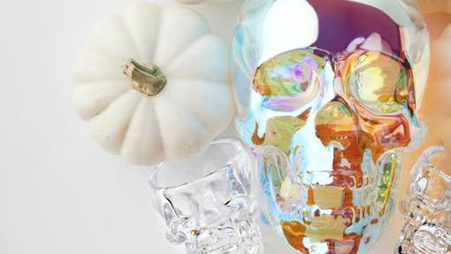 La botella de vodka Crystal Head