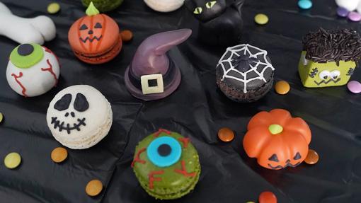 Los macarons y los mazapanes de la edición especial para Halloween de Escribà