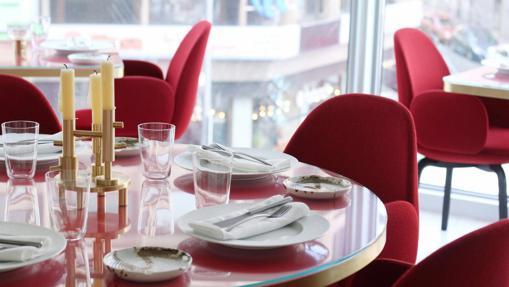 Salón del restaurante Somos