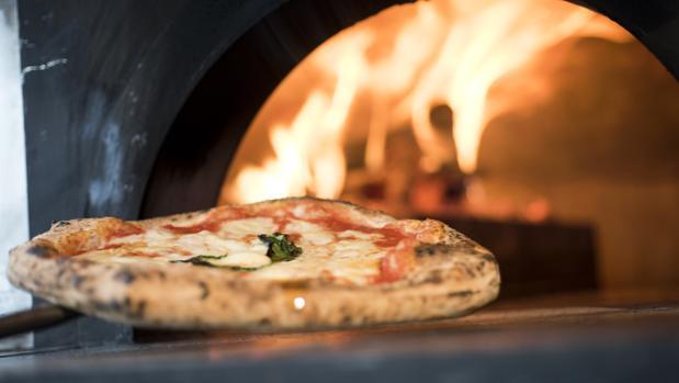 Pizzas napolitanas en pleno centro de Madrid