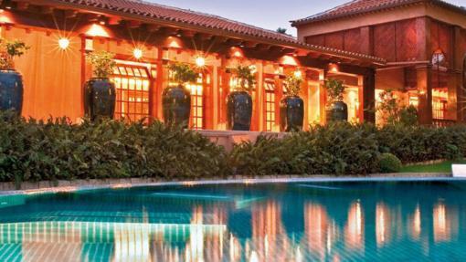 Spa exterior del Hotel Botánico & The Oriental Spa Garden