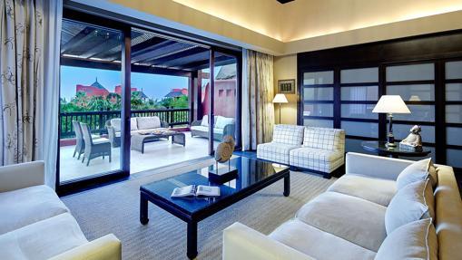 Suite presidencial del hotel