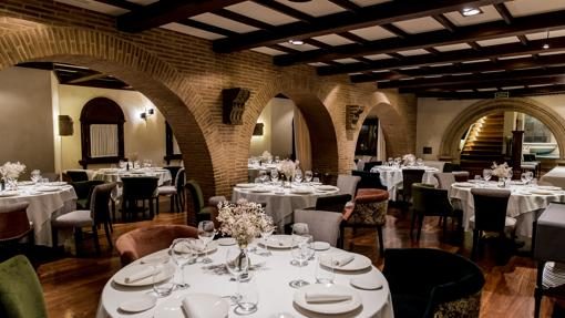 Comedor del restaurante Sanxenxo en Madrid