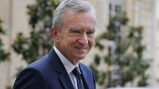 Bernard Arnault, propietario del grupo de artículos de lujo LVMH