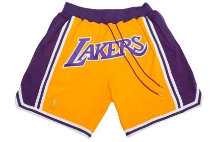 Shorts de los Lakers