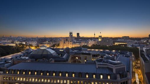 Vistas desde la terraza de Casa Suecia
