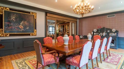 Salón del hotel La Casa del Presidente