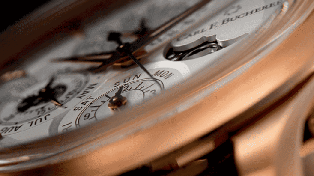 Reloj modelo Manero Flyback de Carl F. Bucherer