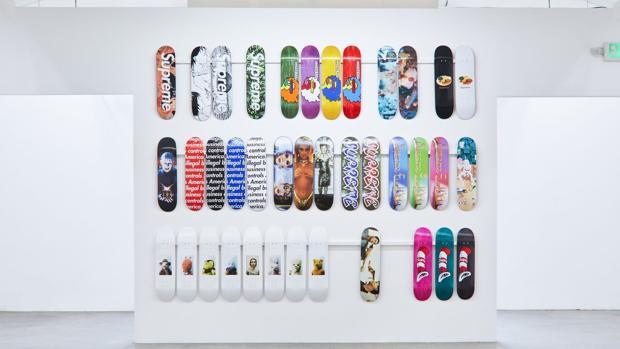 Colección de skate de Supreme