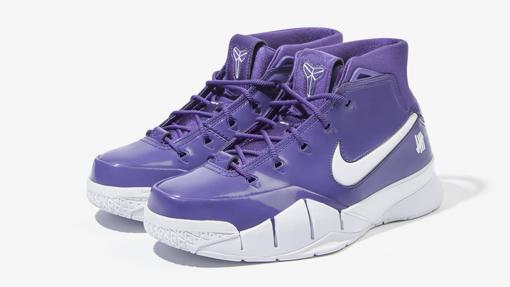 """Undefeated x Nike Kobe 1 Protro """"Purple"""