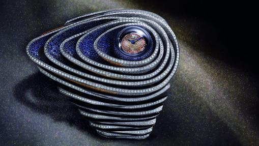 Haute Joaillerie Sapphire Orbe