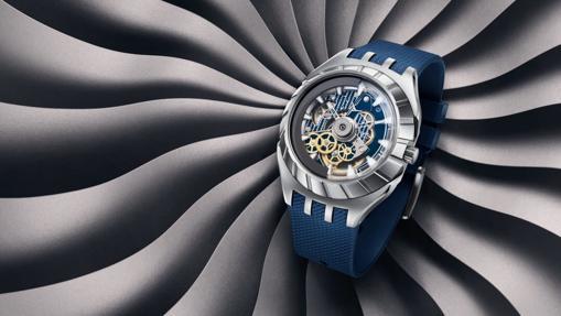 Reloj de la colección Flymagic de Swatch