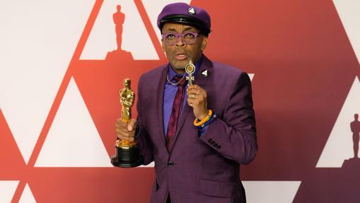 Spike Lee durante la gala de los Premios Oscar 2019