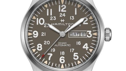 Hamilton Khaki Field Day Date