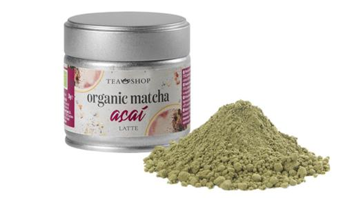 Matcha Latte Açaí, uno de los nuevos supertés de Teashop