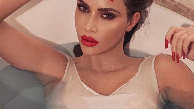 Kim Kardashian en una de sus fotos de Instagram