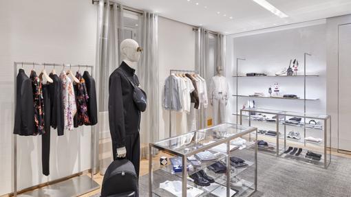 Nuevo espacio Dior Men en la boutique de Dior