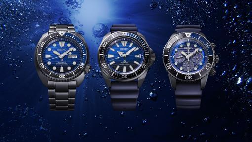 Serie especial Save the Ocean Black Series deSeikoProspex