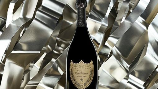 Botella de champagne Dom Pérignon
