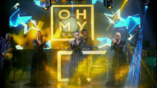 Espectáculo de música en vivo en Oh my Club