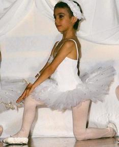 Georgina Rodríguez practicando ballet