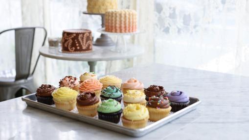 Los famosos cupcakes de Magnolia Bakery