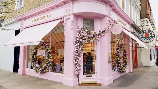 La nueva tienda de Peggy Porschen en Chelsea, Londres