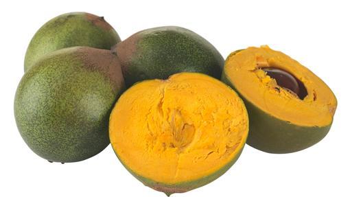 La lúcuma es una fruta dulce que va abriéndose camino desde Perú