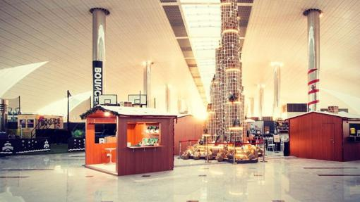 Terminal 3 del aeropuerto de Dubai