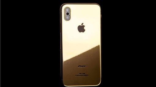 iPhone de oro de 24K