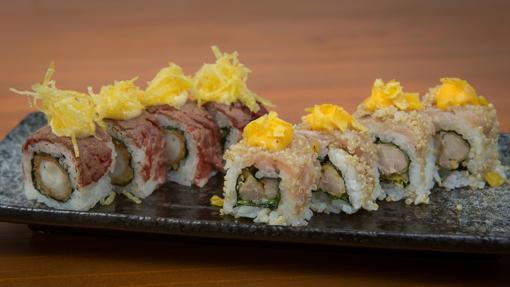 Roll de Mar y montaña y Roll de quinoa y ají de Ronda 14
