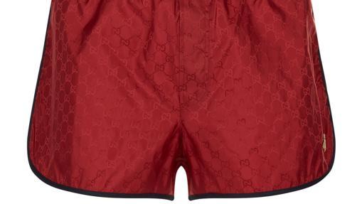 Shorts de baño Gucci GG en jacquard
