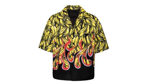 Camisa de aires hawaianos de Prada