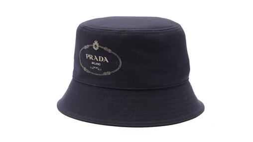 Gorro de pescador de nylon de Prada