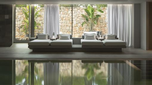 Zona de descanso del Spa Revival by Clarins