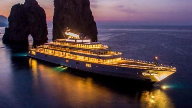 El yate de 400 millones en el que todos los famosos quieren estar en Ibiza