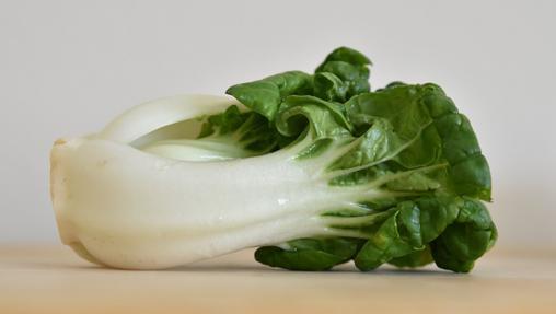 El bok choy es una col china rica en nutrientes