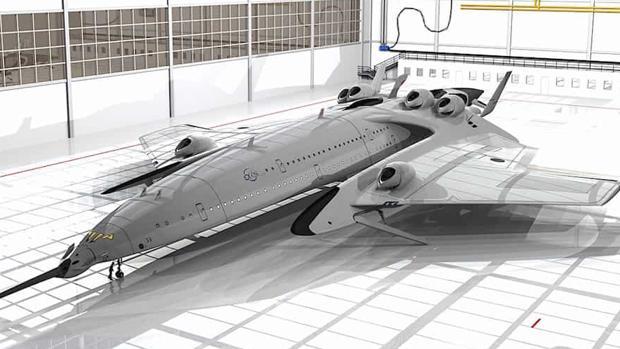 El avión español que viajará de Londres a Nueva York en 2 horas