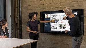 Microsoft presenta la Surface Hub por primera vez en España